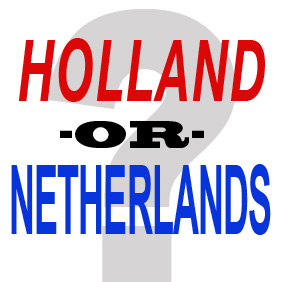 Difference between Holland & the Netherlands