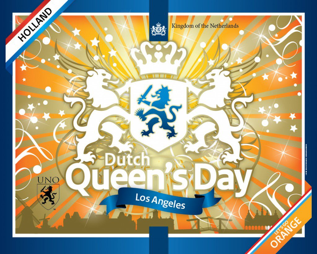 Dutch Queen's Day LA 2013