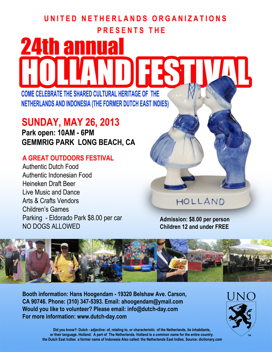24th Annual Holland Festival