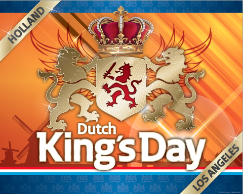Dutch King's Day, Sunday April 30, 2017