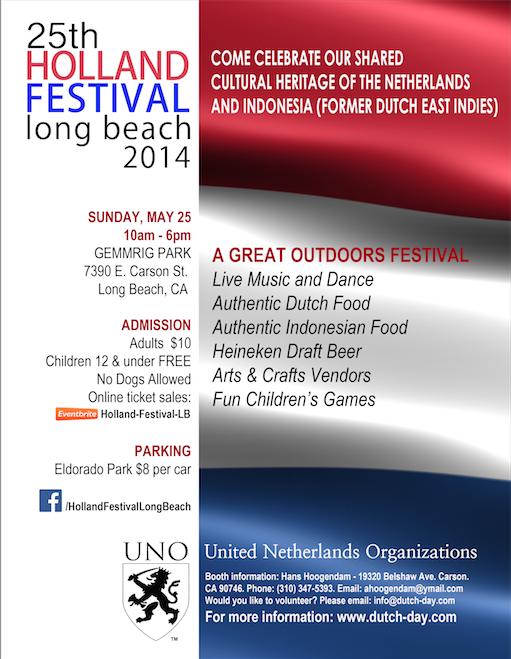 HollandFestival2014Flyer